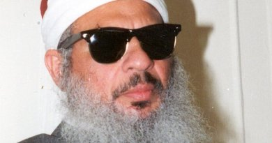 Omar Abdel-Rahman. Photo Credit: US Courts, Wikipedia Commons.