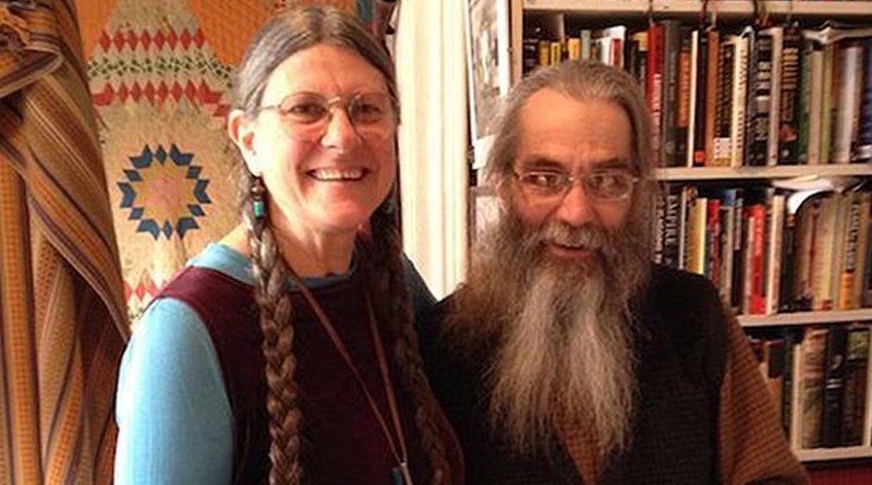 Gabe Huck and Theresa Kubasak