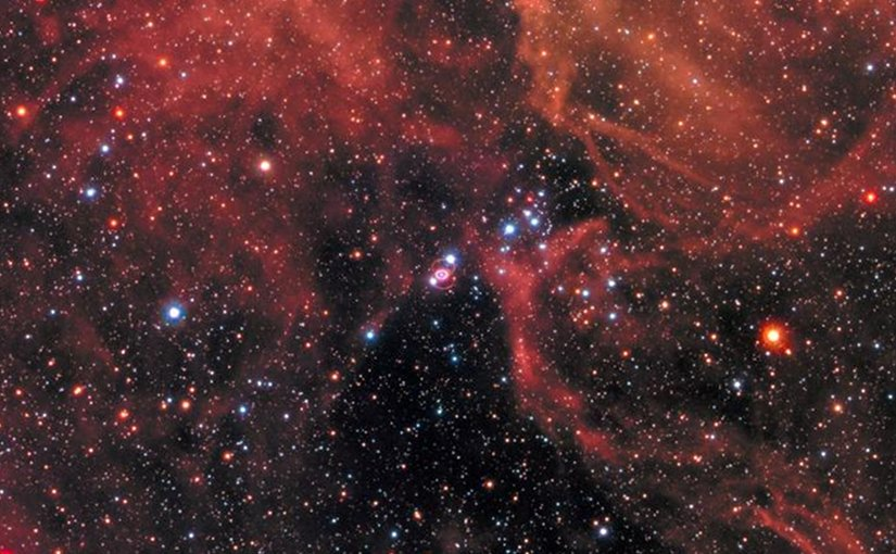 This new image of the supernova remnant SN 1987A was taken by the NASA/ESA Hubble Space Telescope in Jan. 2017 using its Wide Field Camera 3 (WFC3). Since its launch in 1990 Hubble has observed the expanding dust cloud of SN 1987A several times and this way helped astronomers to create a better understanding of these cosmic explosions. Credit NASA, ESA, and R. Kirshner (Harvard-Smithsonian Center for Astrophysics and Gordon and Betty Moore Foundation) and P. Challis (Harvard-Smithsonian Center for Astrophysics)