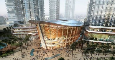 Dubai Opera, The Centre Stage Of All Arts. Credit: Dubai Opera LLC, Wikipedia Commons.