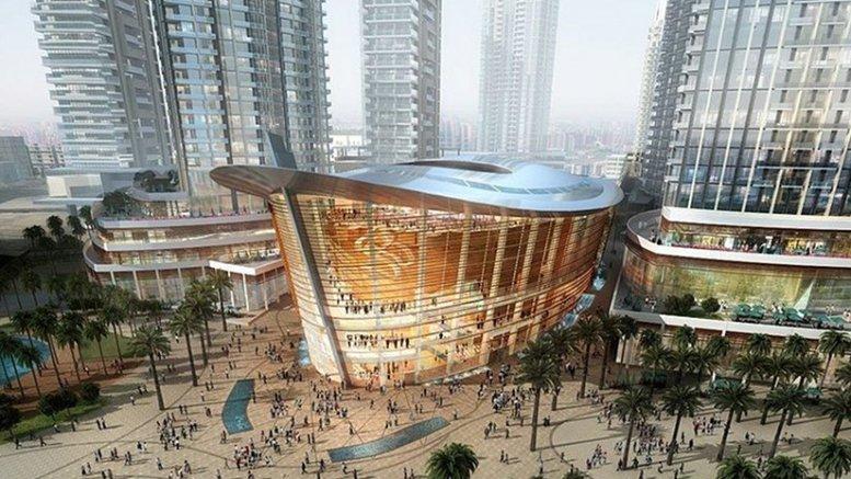 Dubai Opera, The Centre Stage Of All Arts. Credit: Dubai Opera LLC, Wikipedia Commons.