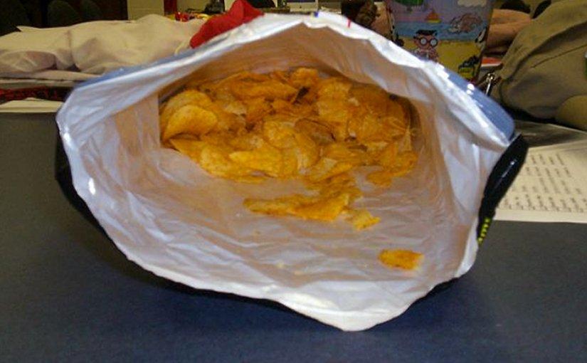 chips junk food