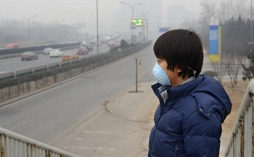 Increases in fine particulate air pollution in 272 Chinese cities linked to increased respiratory deaths. Credit ATS