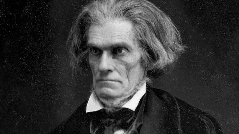 John C Calhoun by Mathew Brady, 1849