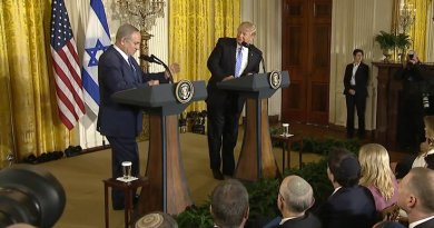 Israel's PM Benjamin Netanyahu and US President Donald Trump. Credit: White House video screenshot.