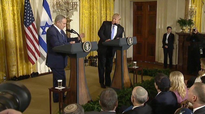 Israel's PM Benjamin Netanyahu and US President Donald Trump. Credit: White House video screenshot.
