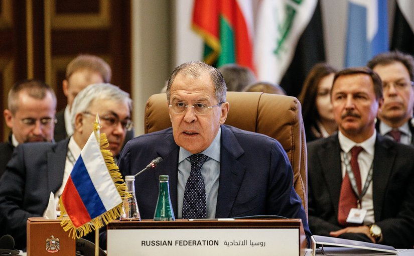 Russia's Foreign Minister Sergey Lavrov. Photo Credit: Russian Ministry of Foreign Affairs
