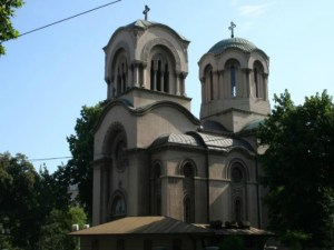 The Church of St. Alexander Nevsky. Photo: Wikimedia Commons.