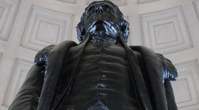 Thomas Jefferson Memorial. Photo by Djonesmhc, Wikimedia Commons.