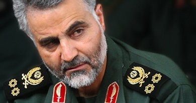 Iran's Qasem Soleimani- commander of Quds Force of Army of the Guardians of the Islamic Revolution (IRGC). Photo by Sayyed Shahab o Din Vajedi, Wikipedia Commons.