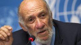 Richard Falk. Photo Credit: Iran Review, Wikipedia Commons.