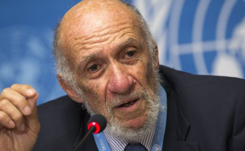 Richard Falk. Photo Credit: Iran Review, Wikipedia Commons.