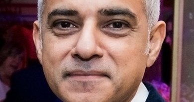 United Kingdom's Sadiq Khan. Photo Credit: US Embassy London, Wikipedia Commons.
