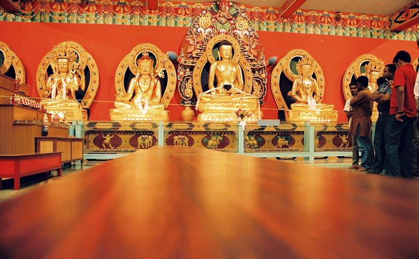 Hindu temple in India.