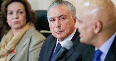 Brazil's Michel Temer and Alexandre de Moraes. Photo Credit: Michel Temer, Beto Barata /PR, Wikipedia Commons.