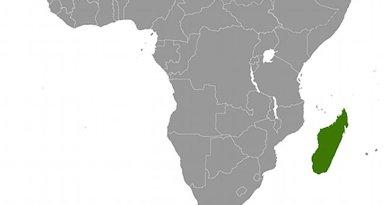 Location of Madagascar. Source: CIA World Factbook.