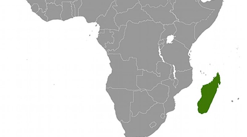 Location of Madagascar. Source: CIA World Factbook.