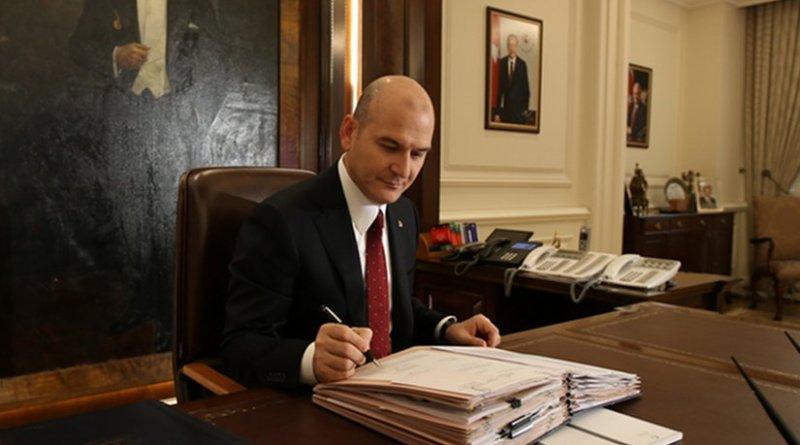 Turkey's Interior Minister Suleyman Soylu. Photo: mia.gov.tr