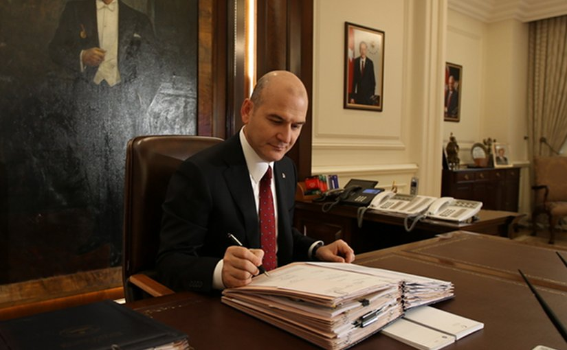 Turkey's Interior Minister Suleyman Soylu. Photo: mia.gov.tr