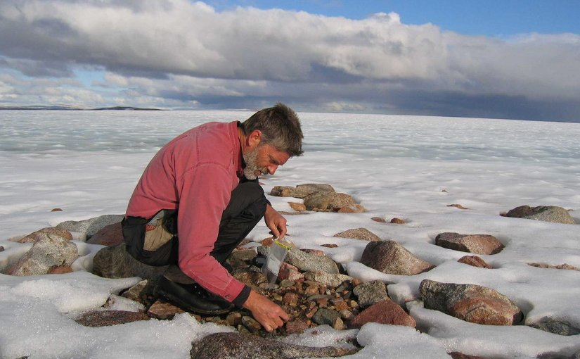 CU Boulder Professor Gifford Miller, shown here, is part of a team that has found the Barnes Ice Cap on Baffin Island, the last remnant of the Laurentide Ice Sheet, will vanish in several hundred years because of rising temperatures caused by human activity. Credit Gifford Miller, University of Colorado