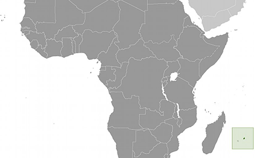 Location of Mauritius. Source: CIA World Factbook.