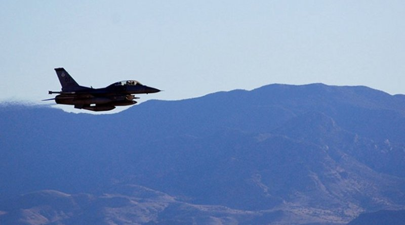 USAF F-16 testing a B61-12 gravity bomb © National Nuclear Security Administration @FrankKlotzNNSA / Twitter