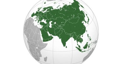 The Eurasia region. Credit: Wikipedia Commons.