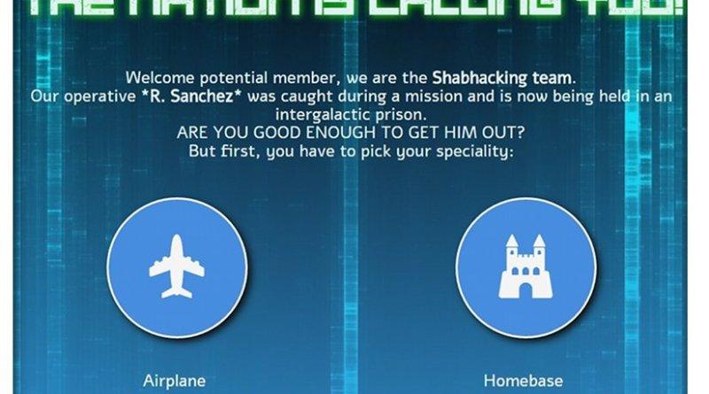 Shabak cyber-hacking recruitment site via Tikun Olam