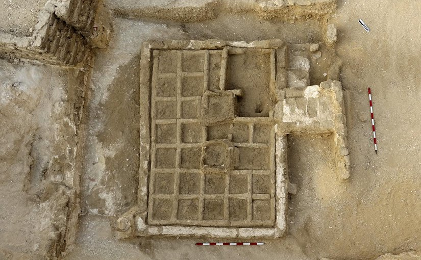 This is a funerary garden discovered by CSIC's research team. Credit CSIC Communications