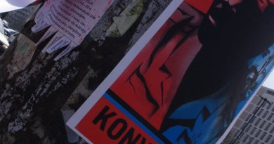 Joseph Kony poster. Photo by Mateusz Opasiński, Wikipedia Commons.