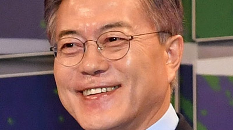 South Korea's Moon Jae-In. Photo Credit: VOA, Wikipedia Commons.