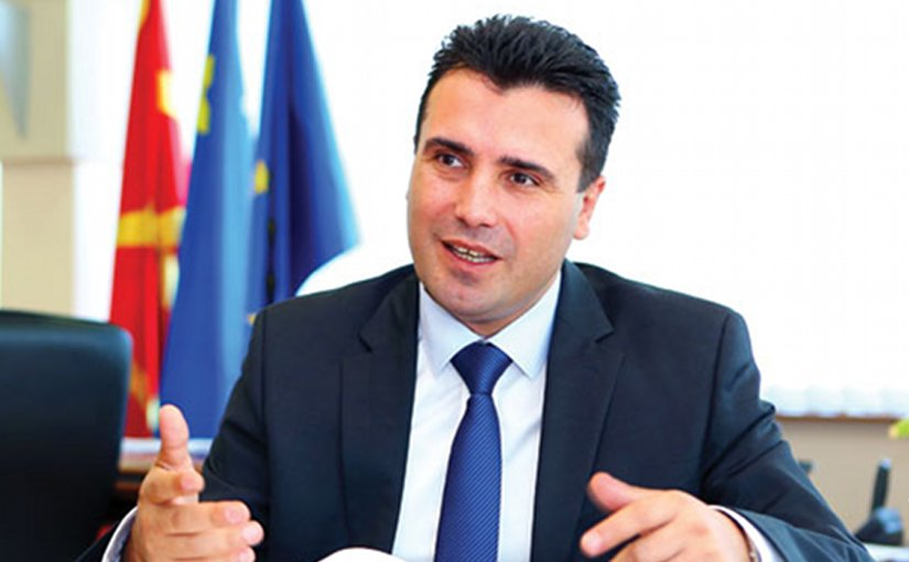 Macedonia's Zoran Zaev. Photo by Naskotaska90, Wikipedia Commons.