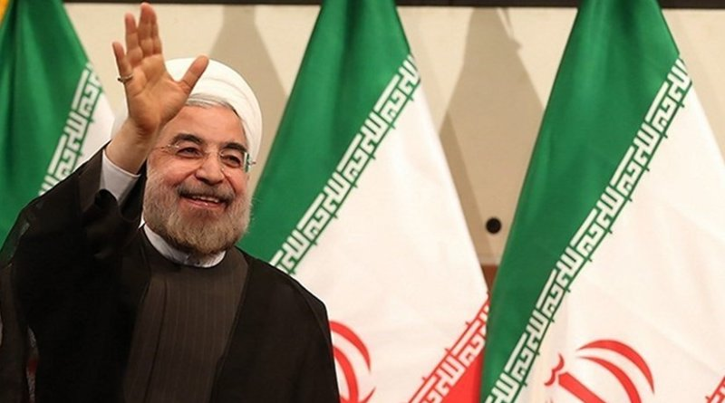 Iran's Hassan Rouhani. Photo by Meghdad Madadi, Wikipedia Commons.