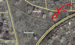 Map 2. Initial Modification and Maintenance Base (latitude, longitude: 35.9415194, 38.9928067)