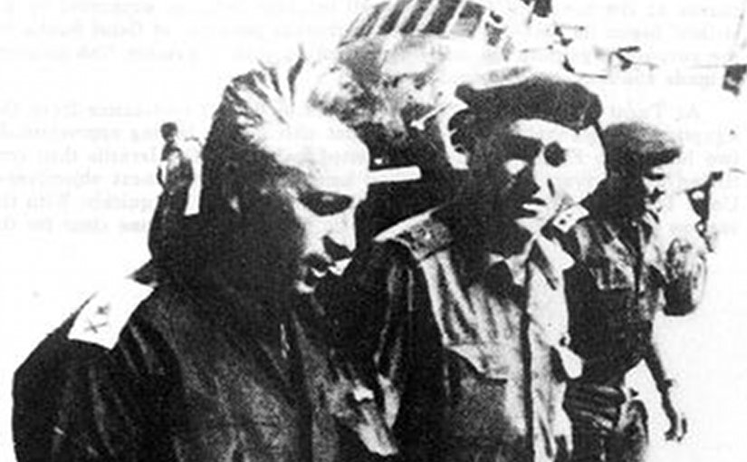 "Major-General Ariel Sharon during the Battle of Abu-Ageila. Taken from ""Key to the Sinai, The Battles for Abu-Ageila in the 1956 and 1967 Arab-Israeli Wars"" In: Combat Studies Institute, Research Survey no.7 by G.W. Gawrych. Wikipedia Commons."