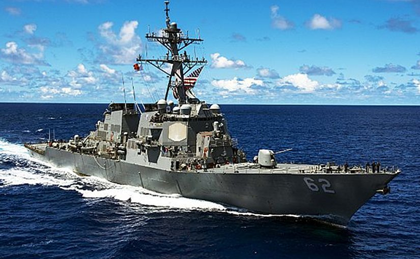 File photo of USS Fitzgerald (DDG 62). US Navy photo by Mass Communication Specialist Seaman David Flewellyn/Released