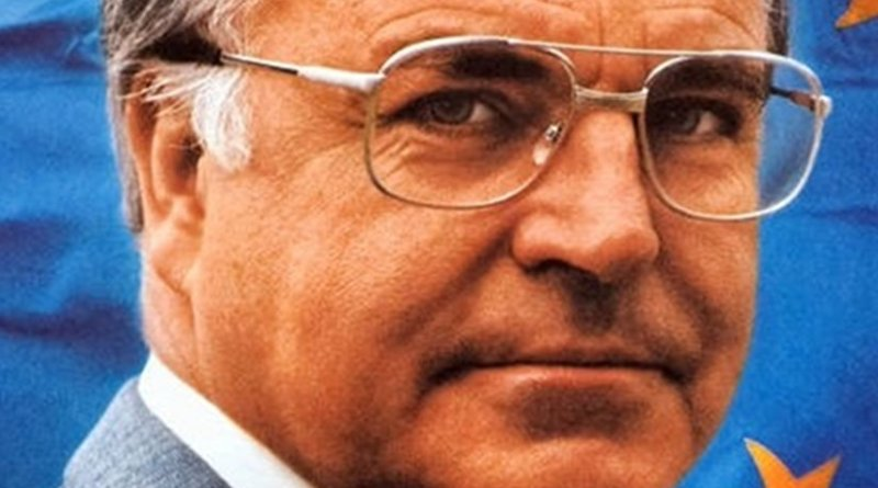 Germany's Helmut Kohl. Photo by CDU and the Konrad-Adenauer-Stiftung, Wikipedia Commons.