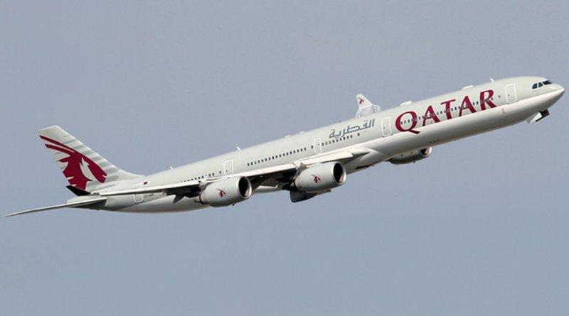 A Qatar Airways Airbus A340-600. Photo by Konstantin von Wedelstaedt, Wikipedia Commons.
