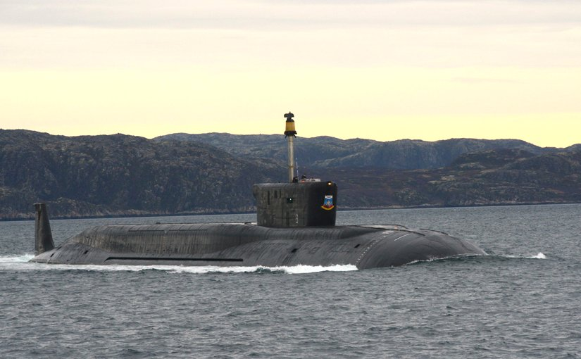 File photo of Russia's strategic missile submarine Yuri Dolgoruky. Photo Credit: Russian Military, Mil.ru
