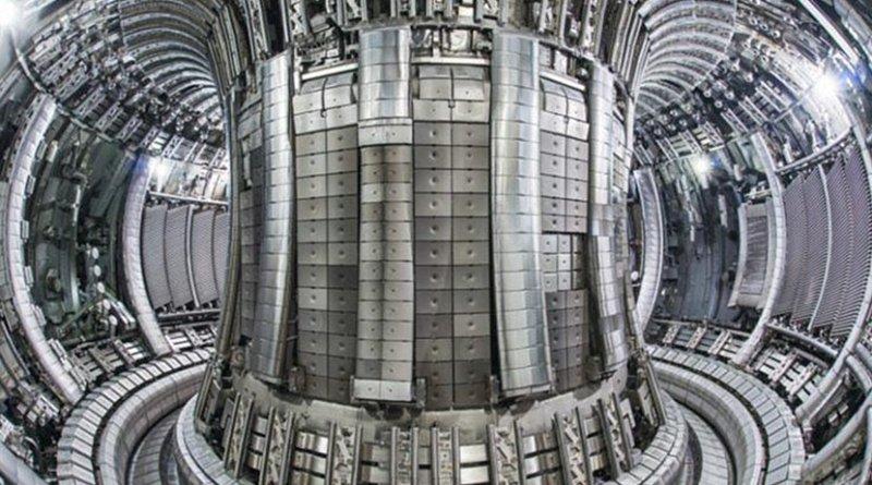 Inside the JET facility. Source: EUROfusion