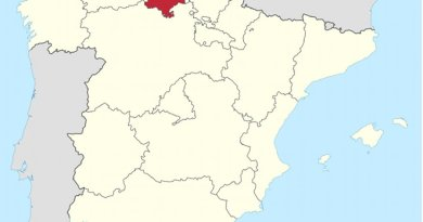 Location of Cantabria in Spain. Source: WIkipedia Commons.