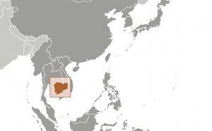Location of Cambodia. Source: CIA World Factbook.