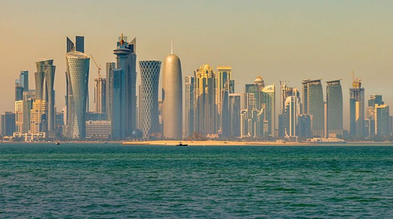 Doha, Qatar. Photo by Francisco Anzola, Wikipedia Commons.
