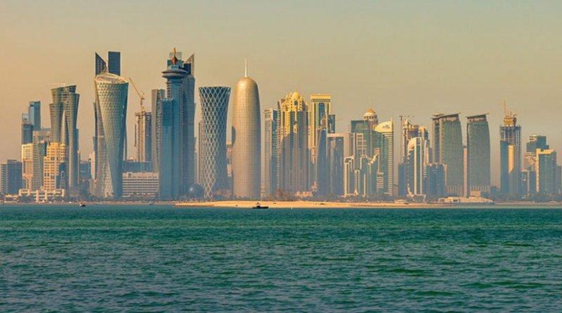Doha, Qatar. Photo by Francisco Anzola, Wikipedia Commons.