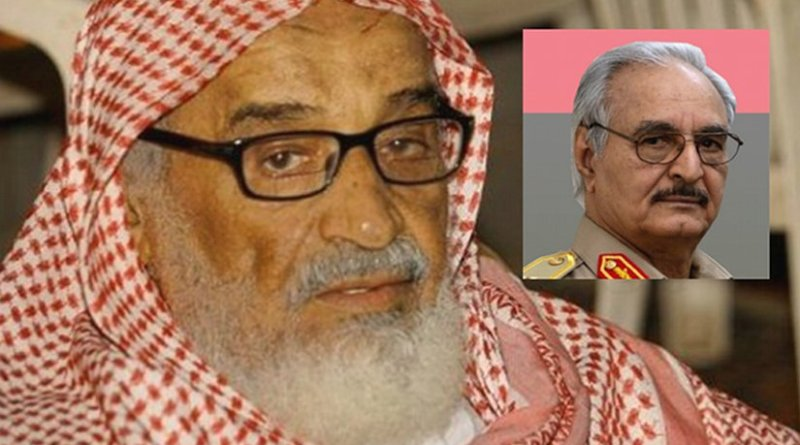 Sheikh Al-Madkhali and General Haftar / Source: Libya Tribune