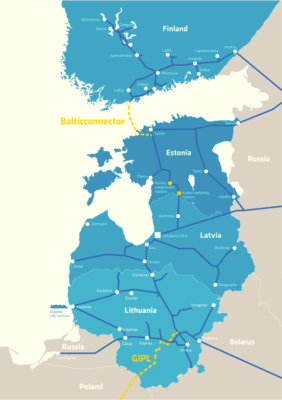 Balticconnector Map (Source: Balticconnector.fi)