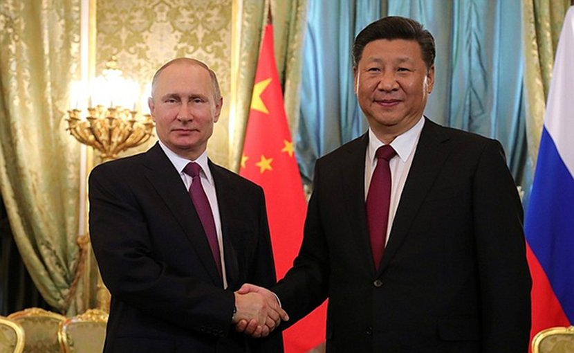 Russia's President Vladimir Putin and President of China Xi Jinping. Photo Credit: Kremlin.ru