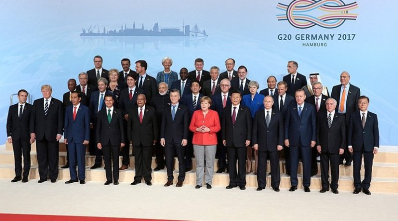 G20 Summit participants in Hamburg, Germany 2017. Photo Credit: Kremlin.ru