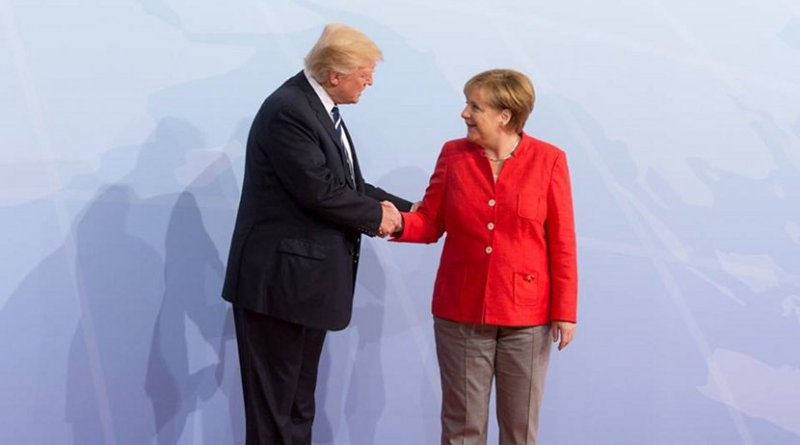 President Donald J. Trump and Chancellor Angela Merkel | July 7, 2017 (Official White House Photo by Shealah Craighead)