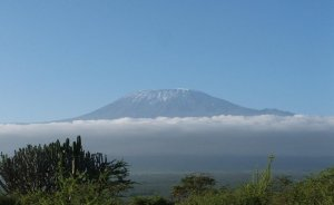 File photo of Mount Kilimanjaro in Tanzania. It is the highest mountain in Africa, and rises approximately 4,900 metres (16,100 ft) from its base to 5,895 metres (19,341 ft) above sea level.